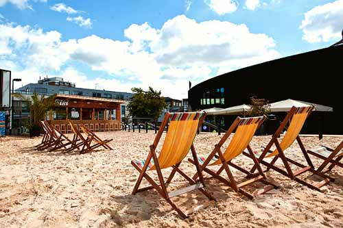 Camden Beach, London - copyright The Roundhouse