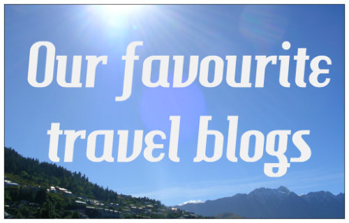Our favourite travel blogs