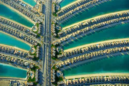 Palm Jumeirah in Dubai, photo by Alexander Heilner