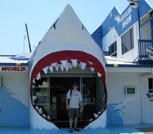 Shark World in Australia
