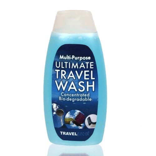 Travel wash - useful for your career break or gap year backpacking around the world