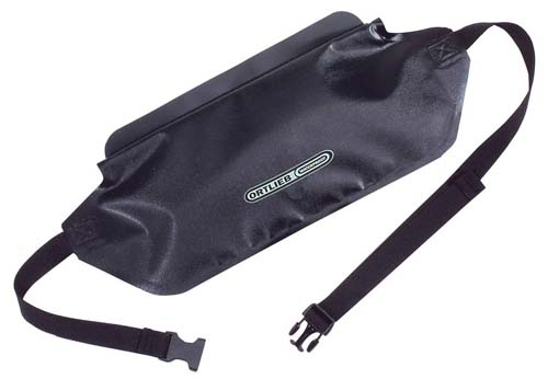 Waterproof money belt for backpacking and camping