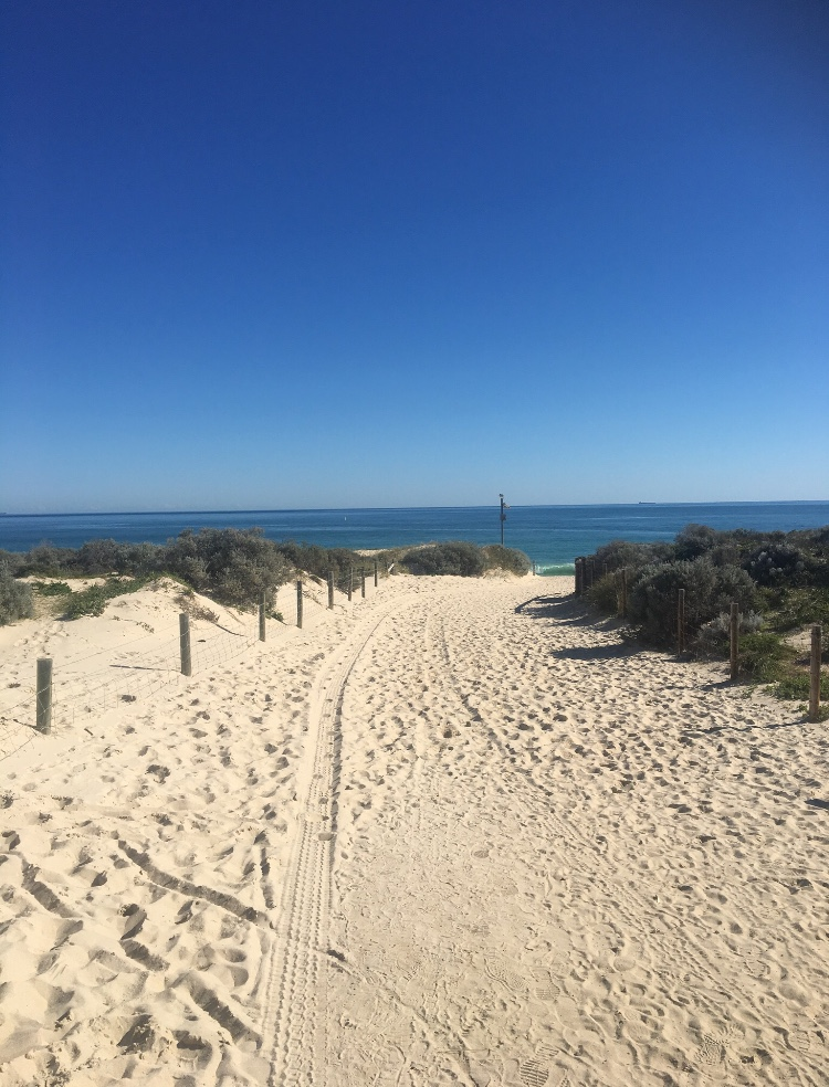 Scarborough beach in Perth, Australia