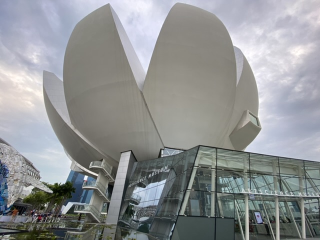 Singapore's lotus-shaped ArtScience Museum