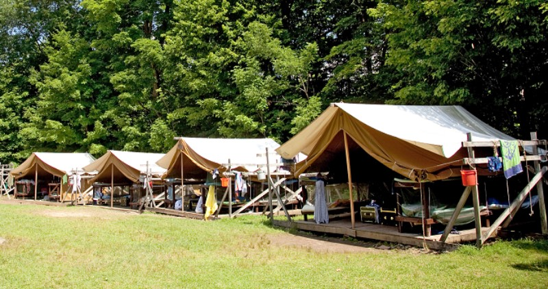 BUNAC accommodation for people doing paid work abroad on an American summer camp in the USA