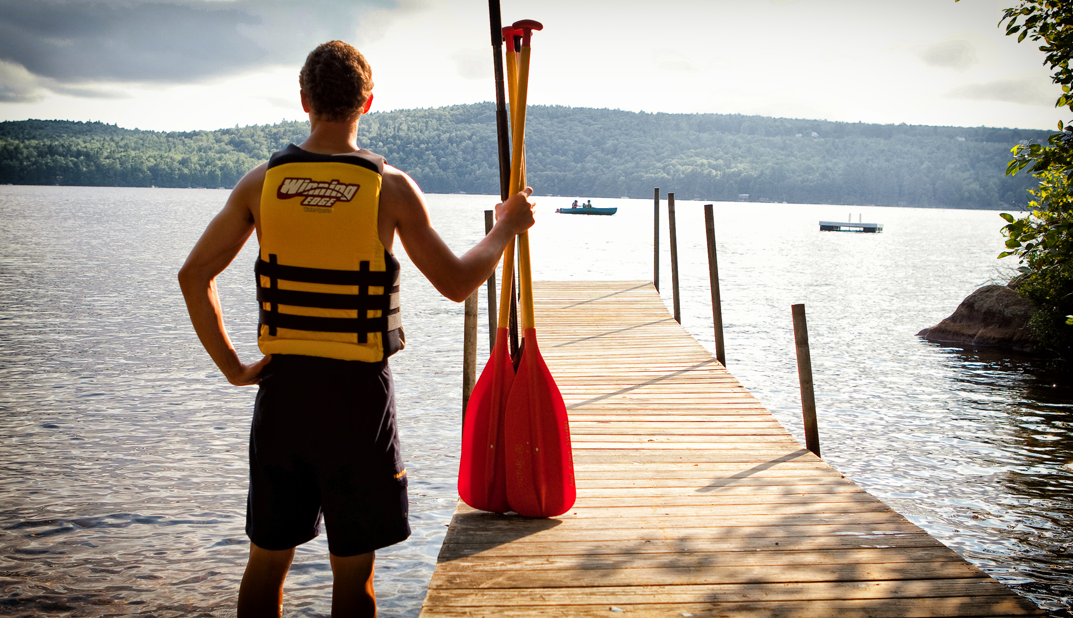 Bunac summer camp kayak instructor working abroad and getting paid in the USA