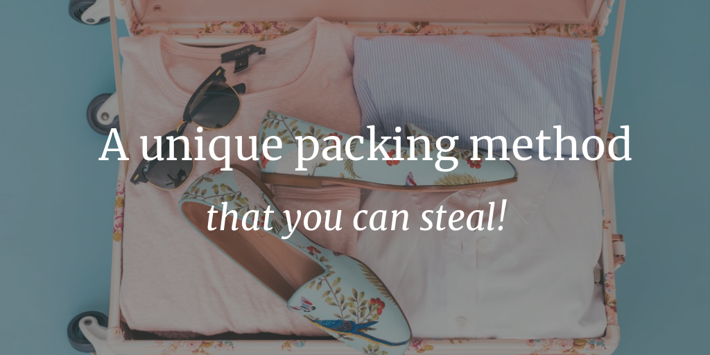 A unique packing method that you can steal!