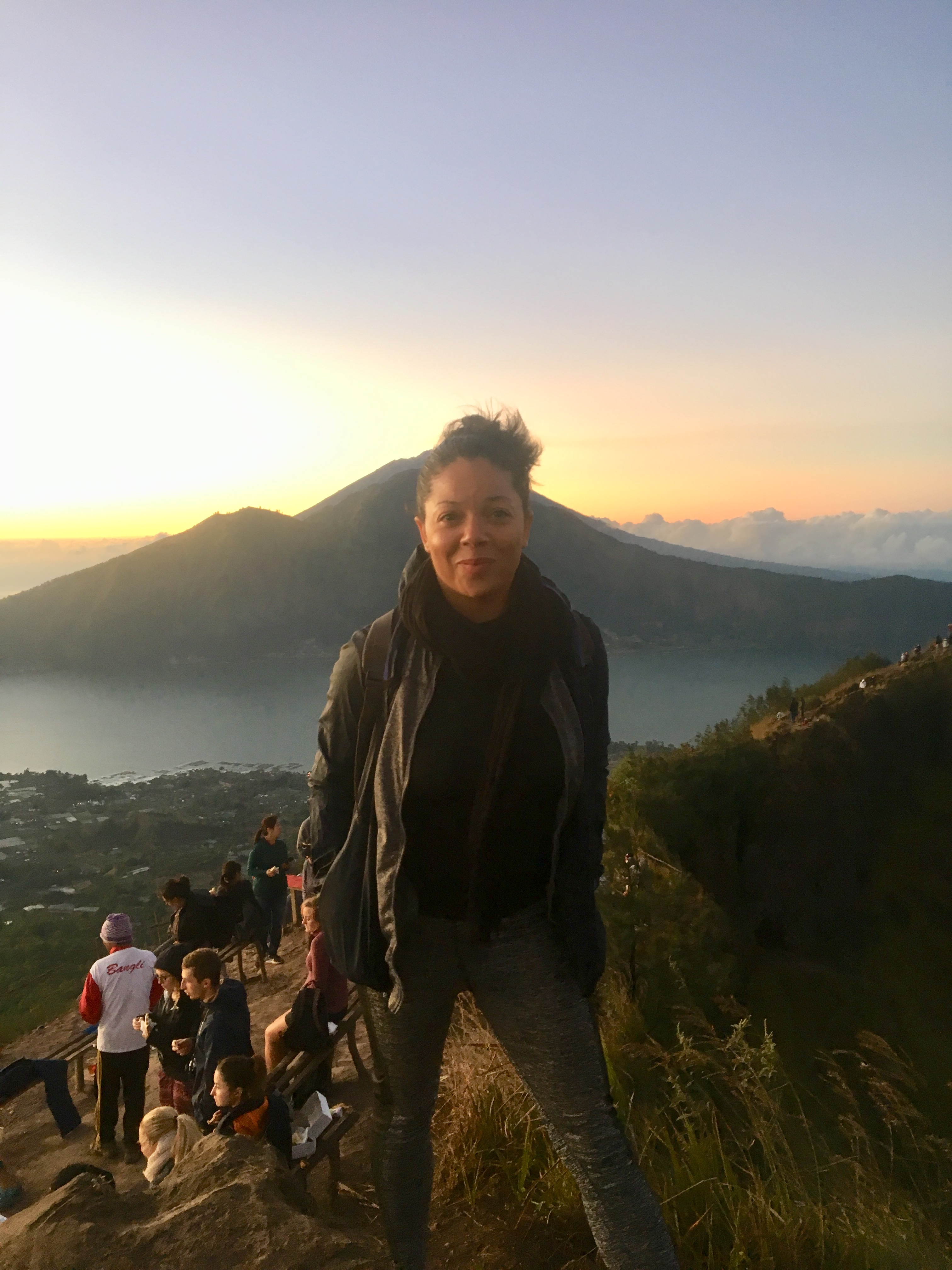 A sunrise trek in Bali