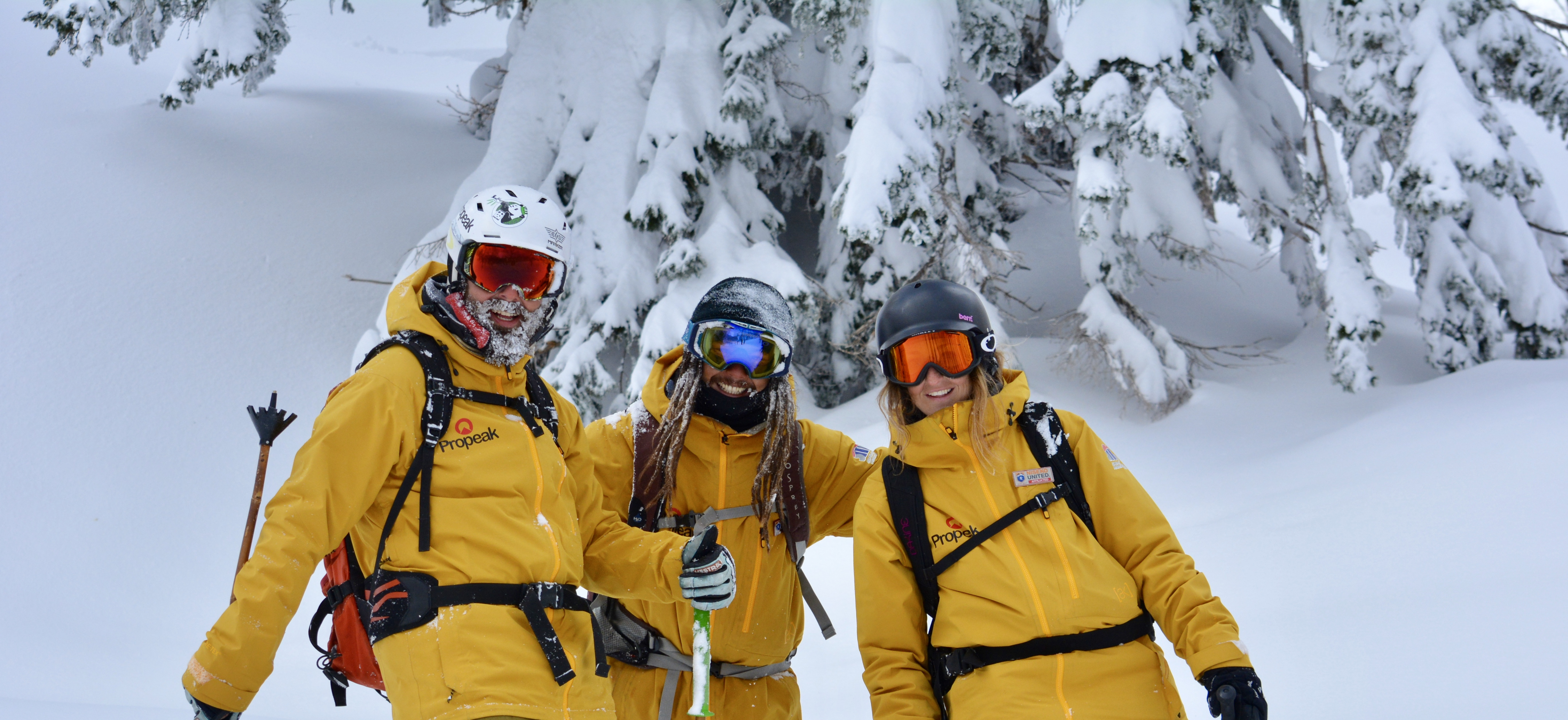 We Are Sno ski instructor course students