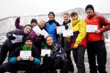 NZSIA Level one instructors in Japan
